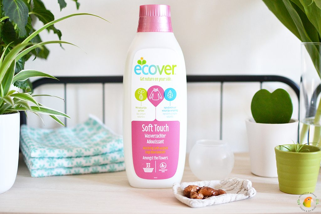 """Afbeelding ecologisch huishoudproduct Ecover wasverzachter"""""""