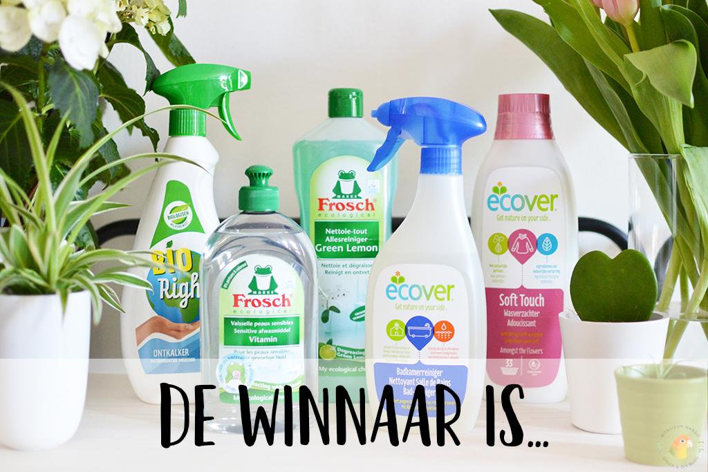 Afbeelding De winnaar van het ecologische huishoudpakket is...