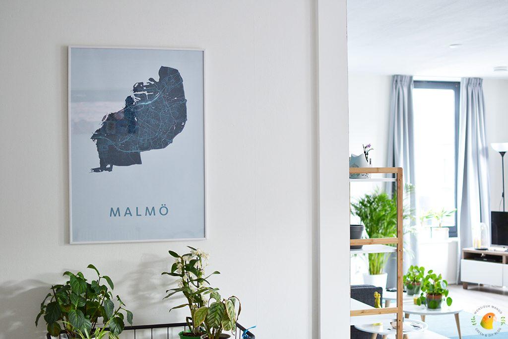 Afbeelding stadsplattegrond Malmö van Kunst in Kaart
