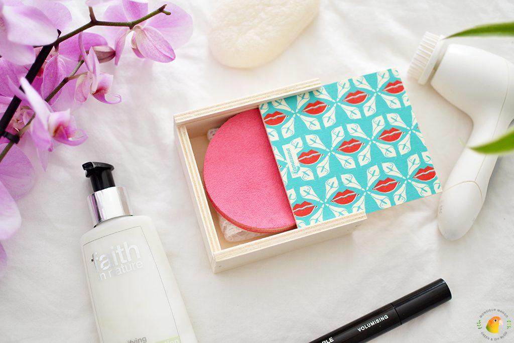 Afbeelding wasbare wattenschijfjes in doos