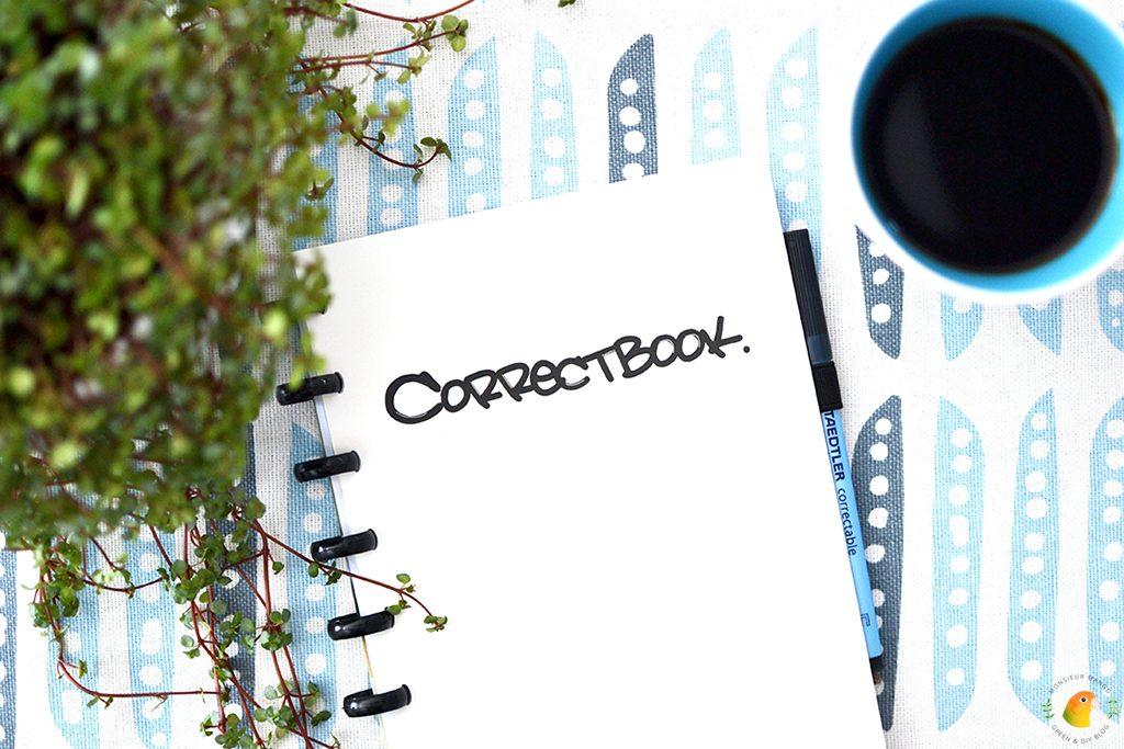 Afbeelding Correctbook notitieboekje