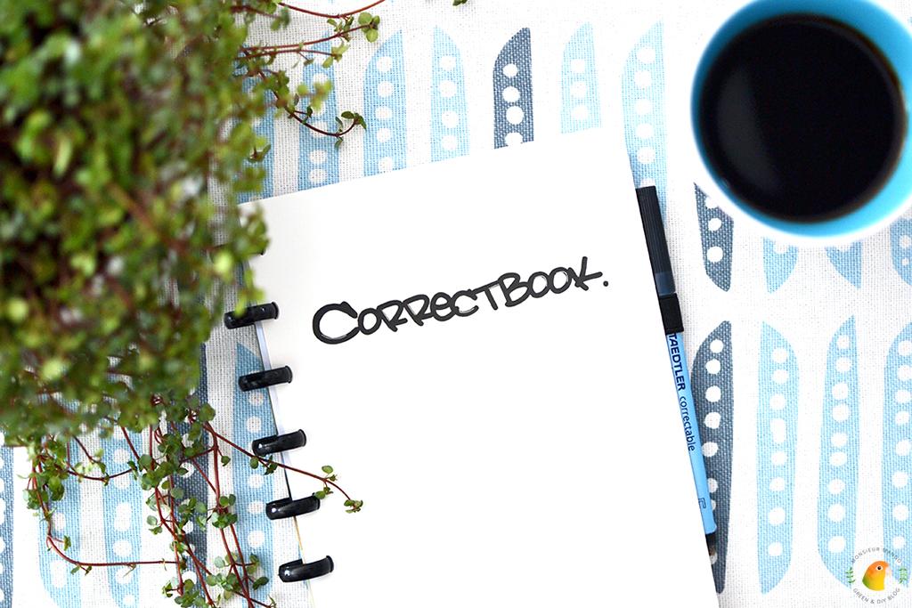 Afbeelding Correctbook: een duurzaam notitieboekje