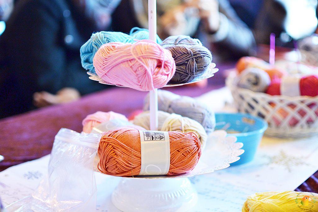 Afbeelding Knit & Knot etagère met garen