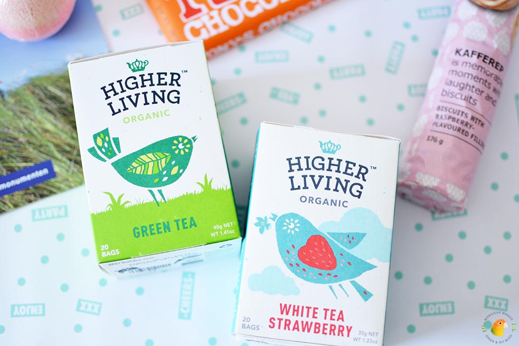 Echte Post Is Cool #5 gegeven twee doosjes thee