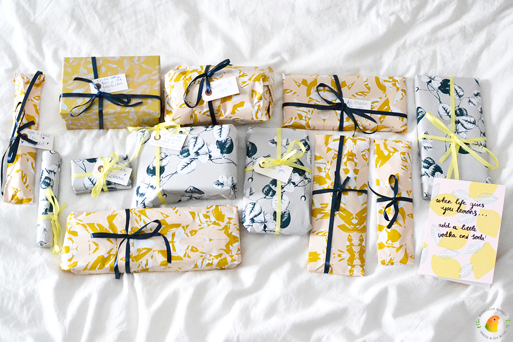 Echte Post Is Cool #5 alle ingepakte cadeautjes bij elkaar