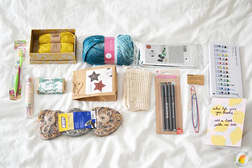 Echte Post Is Cool #5 uitgepakte cadeautjes