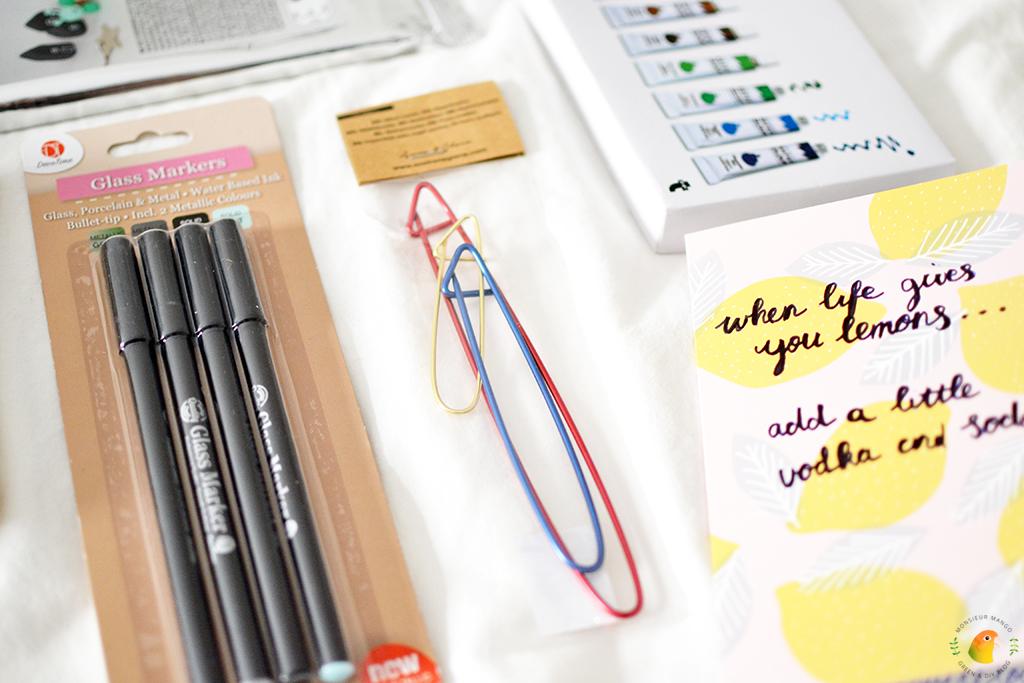 Echte Post Is Cool #5 glasstiften en stekenhouders