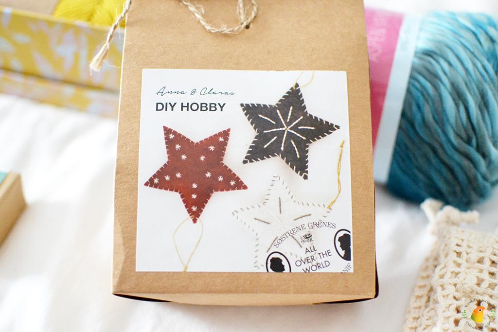 Echte Post Is Cool #5 DIY pakket vilten sterren