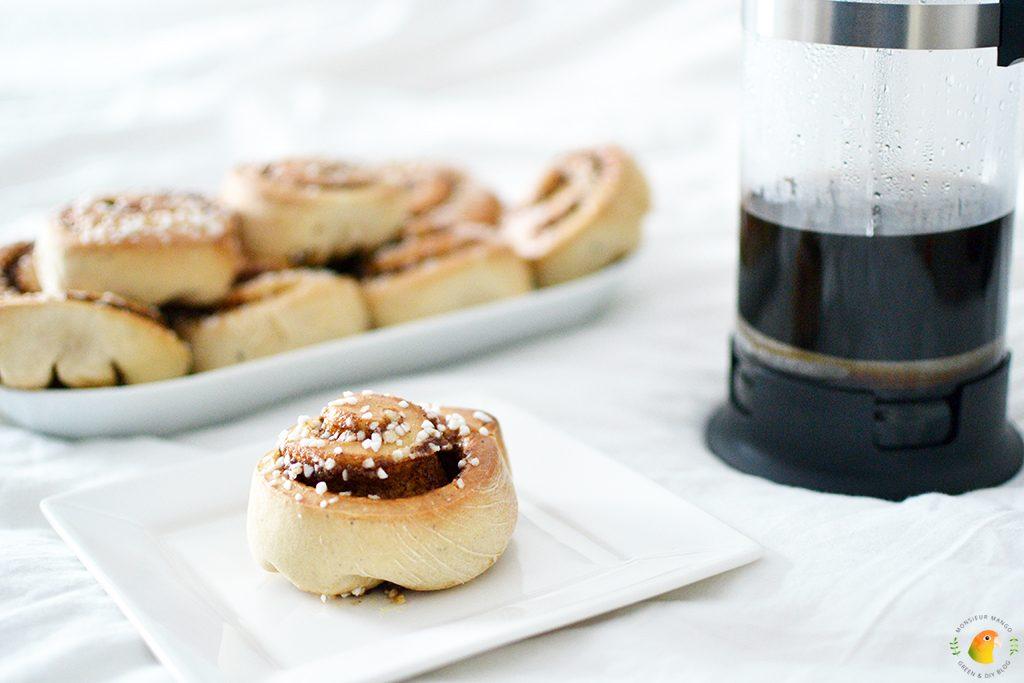 Recept Zweedse kanelbullar