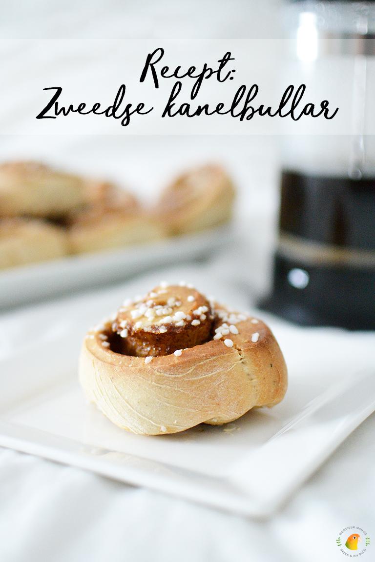 Recept voor Zweedse kanelbullar