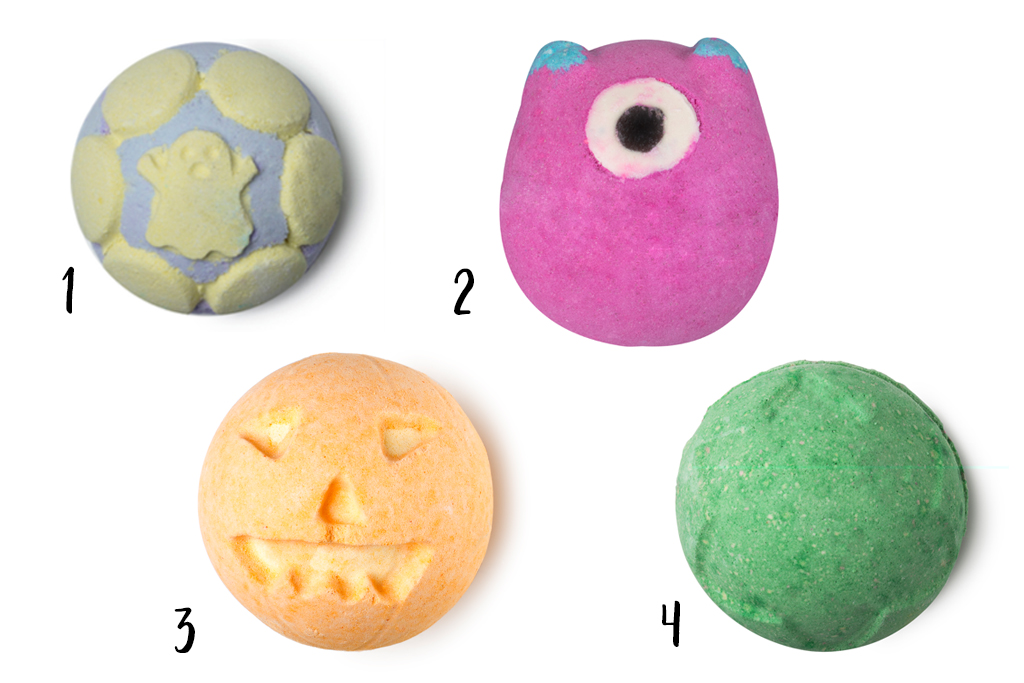 Lush Halloweencollectie 2017 Bath Bombs