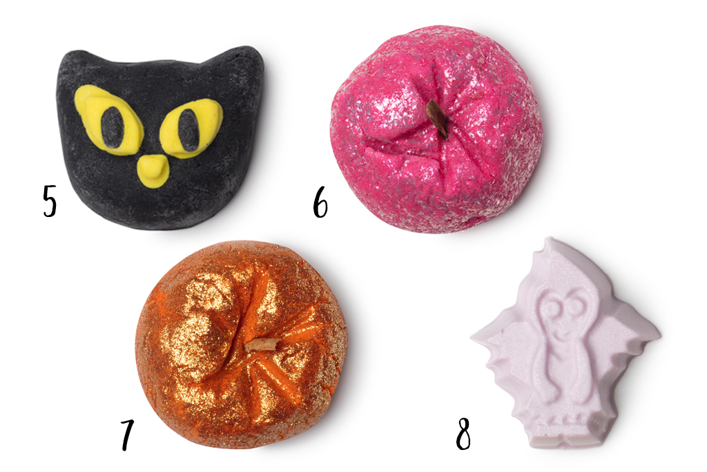 Lush Halloweencollectie 2017 Bubble Bars