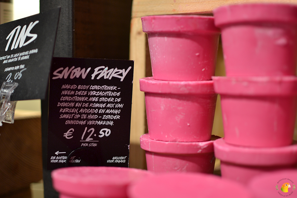 Lush Wintercollectie 2017 Snow Fairy Naked Bodyconditioner