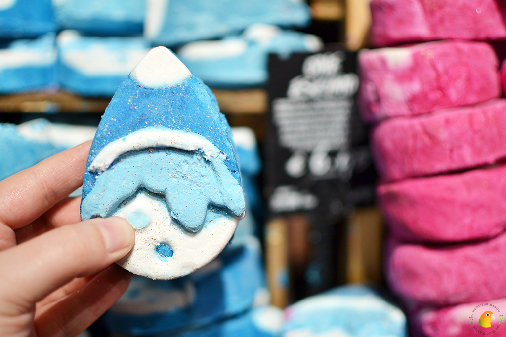Lush Wintercollectie The One Eskimo Bubble Bar