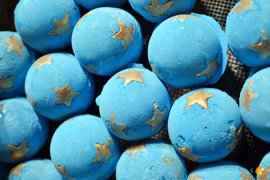Lush Wintercollectie Shoot For The Stars Bath Bomb