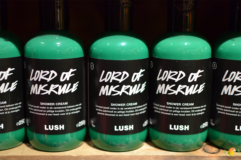 Lush Lord of Misrule Shower cream