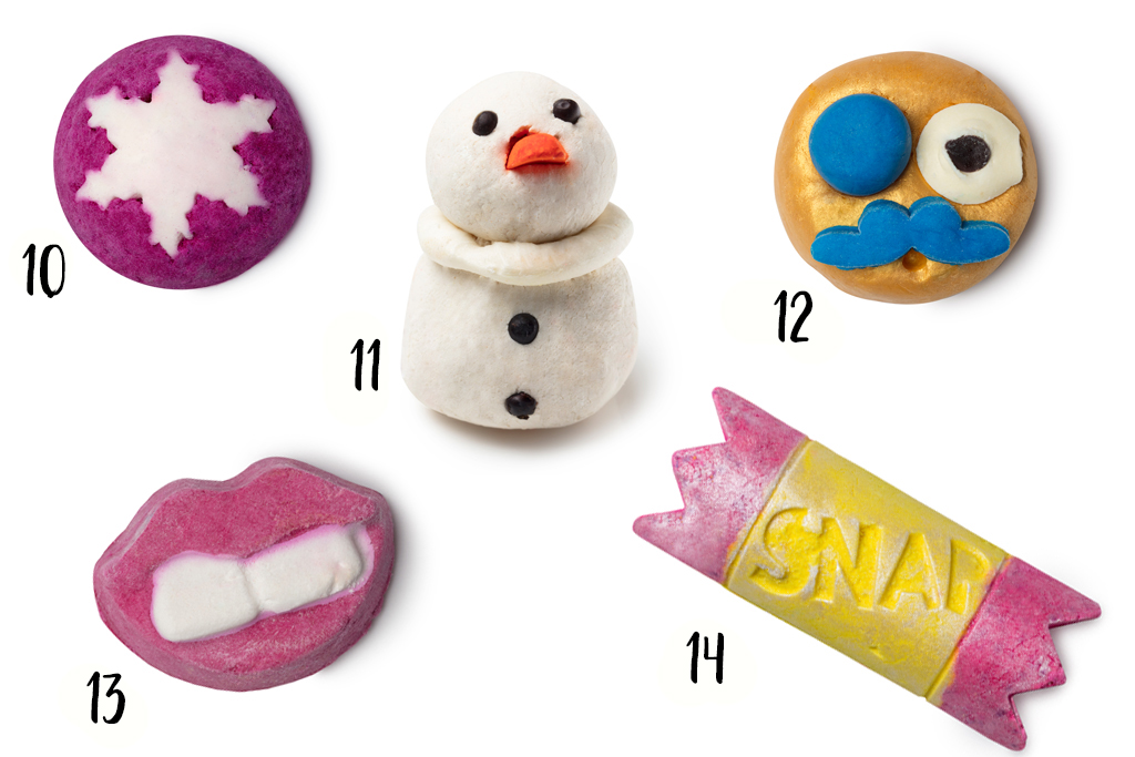 Lush Wintercollectie 2017 Bubble Bars