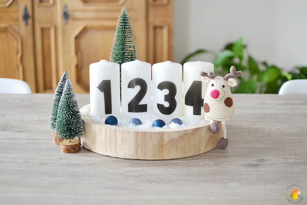 DIY Adventskaarsen maken
