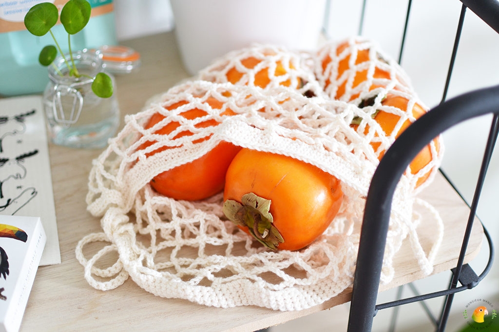 Win een green happiness pakket bij MonsieurMango.nl - gehaakt groente-/fruitnetje