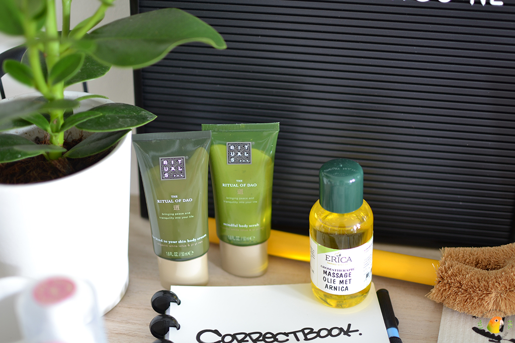 Win een green happiness pakket bij MonsieurMango.nl - Rituals en Erica Kruiderijen massage olie