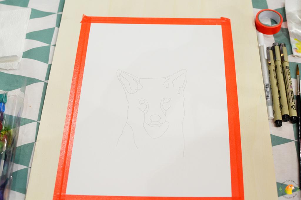 KreaDoe 2017 workshop Paper Den tekening