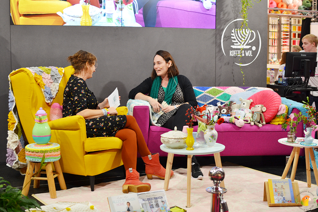 KreaDoe 2017 Koffie & Wol tv met Marlies Strijker-During