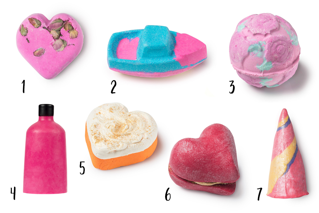 Lush Valentijnscollectie 2018 Bath Bombs en Bubble Bars