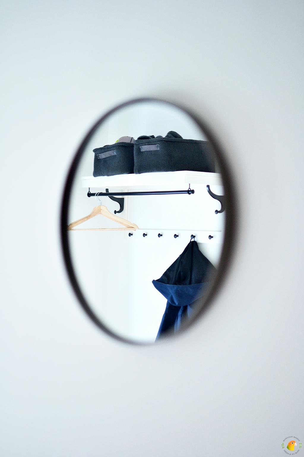 Scandinavische woonitems | Wandspiegel House Doctor