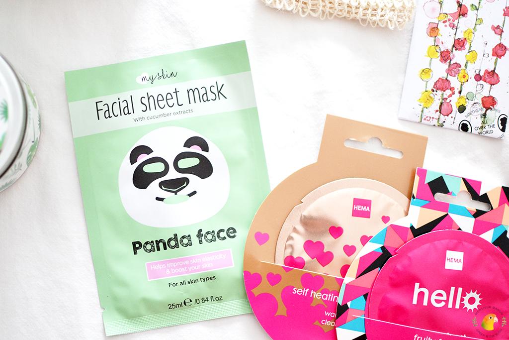Echte Post Is Cool #6 gegeven cadeau gezichtsmaskertjes