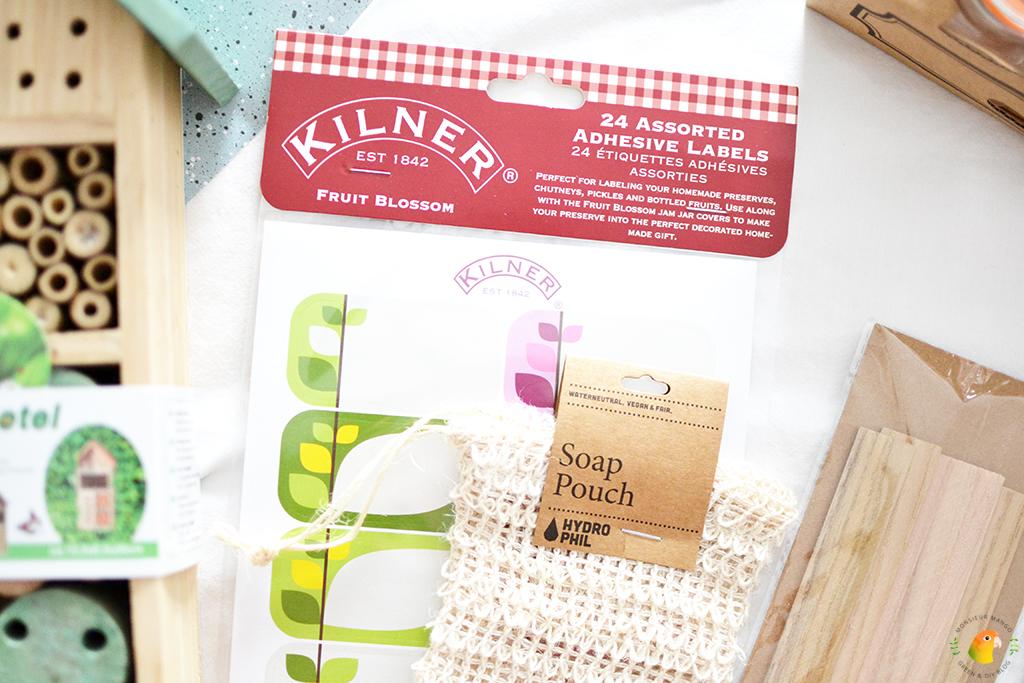 Echte Post Is Cool #6 gegeven cadeau zeep zakje en etiketten
