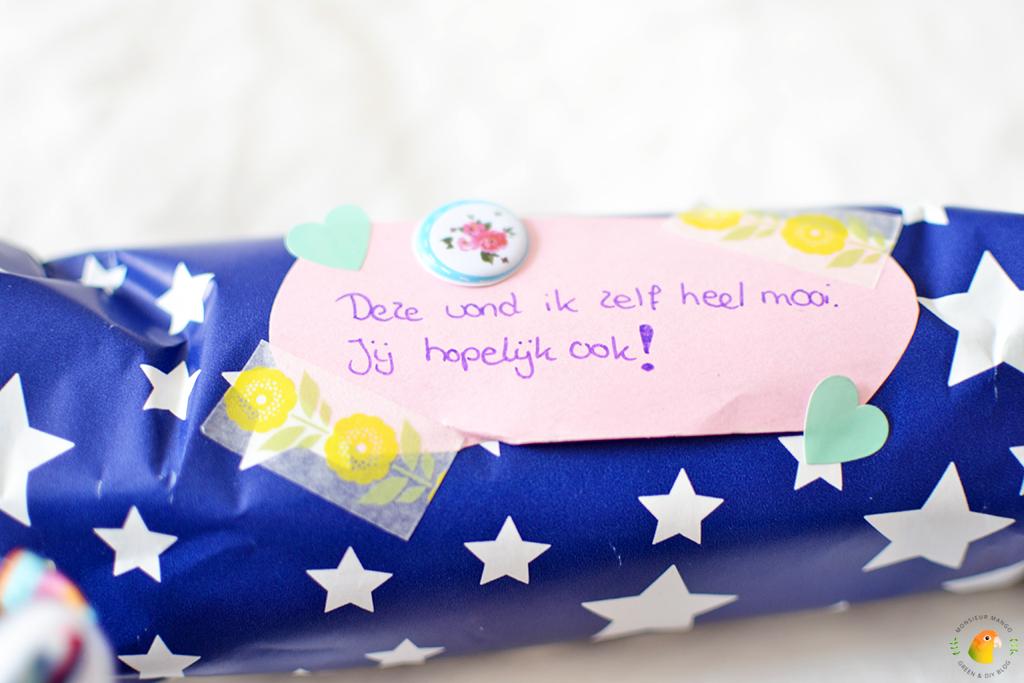 Echte Post Is Cool #6 gekregen cadeautjes berichtje