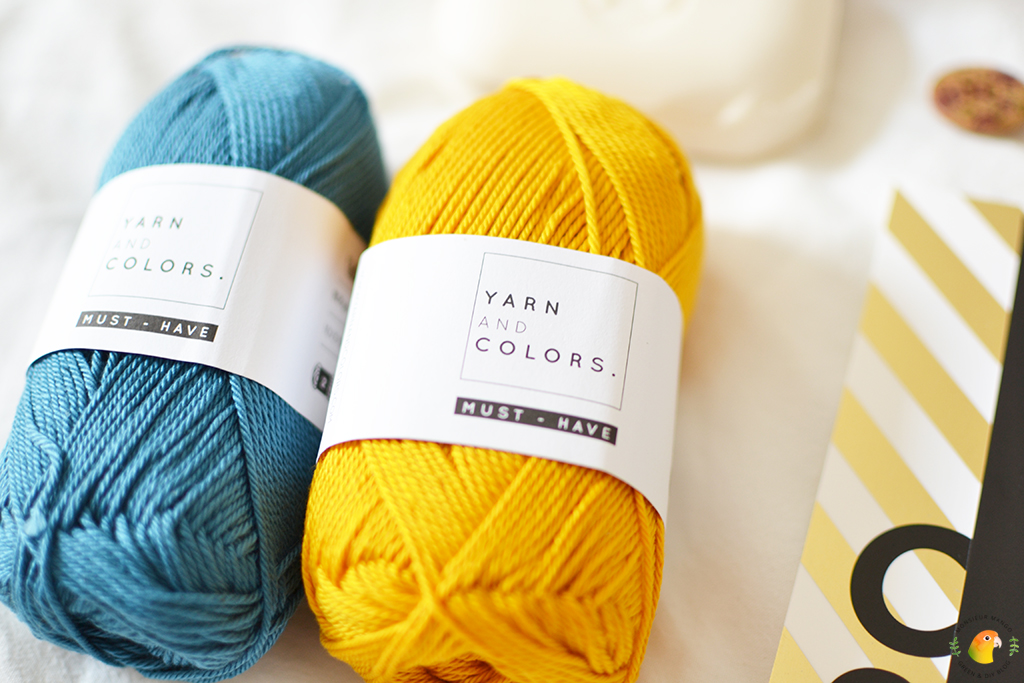 Echte Post Is Cool #6 gekregen cadeautjes Yarn and Colors garen