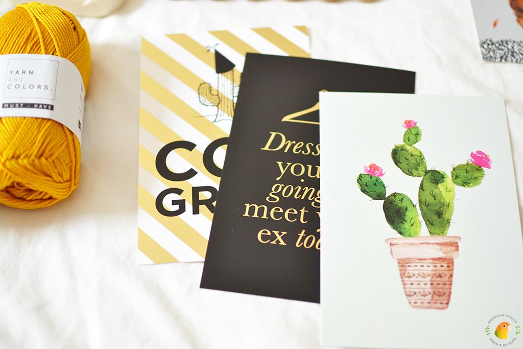 Echte Post Is Cool #6 gekregen cadeautjes kaarten