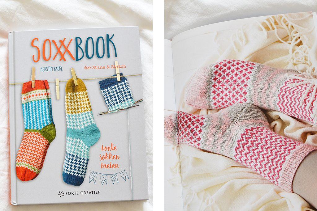 Boek: SOXX, bonte sokken breien