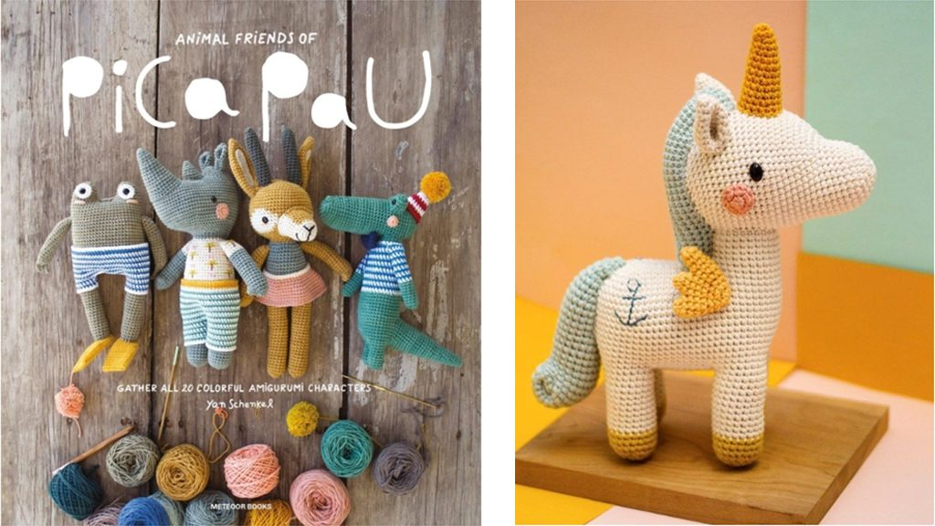 Boek: Pica Pau Animal friends haken