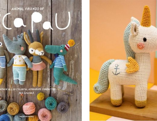 Boek: Pica Pau Animals friends gehaakte knuffels